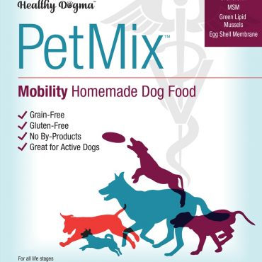 PetMix mobility homemade dog food