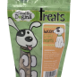A treat after your dog's own heart! Our delicious heart-shaped bacon maple treats are the perfect combination of great taste and healthy ingredients and are sure to have your dog's tail wagging with joy.  Ingredients: Oat Flour, Peanut Butter, Canola Oil, Bacon Flavor, Bone Charcoal, Maple Flavor