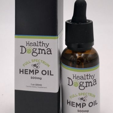 Grown in the lush farmlands of Michigan, surrounded by the gorgeous Great Lakes and kissed by the warm Midwestern sunshine, Healthy Dogma's full-spectrum hemp oil is your premier choice when looking for the ideal combination of quality and performance for your dog.  Extracted in our state-of-the-art laboratory, using the cleanest cutting-edge technology, Healthy Dogma's full-spectrum hemp oil is your best choice when you're looking for reliable product to support your dog's health and well-being.  Pet owners who are dedicated to providing quality care trust Healthy Dogma to deliver the very best for their dogs, and we're proud to add our new full-spectrum hemp oil to our comprehensive line of food, supplements, and treats.