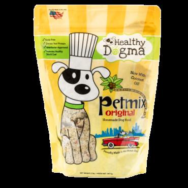(1) 2lb bag of Healthy Dogma PetMix Original Homemade Dog Food